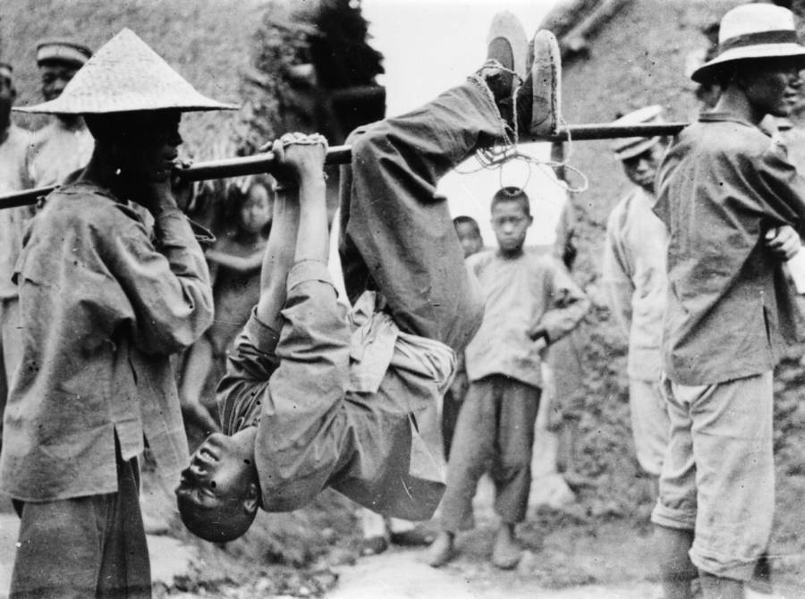 Cantonese Prisoner During Chinese Civil War