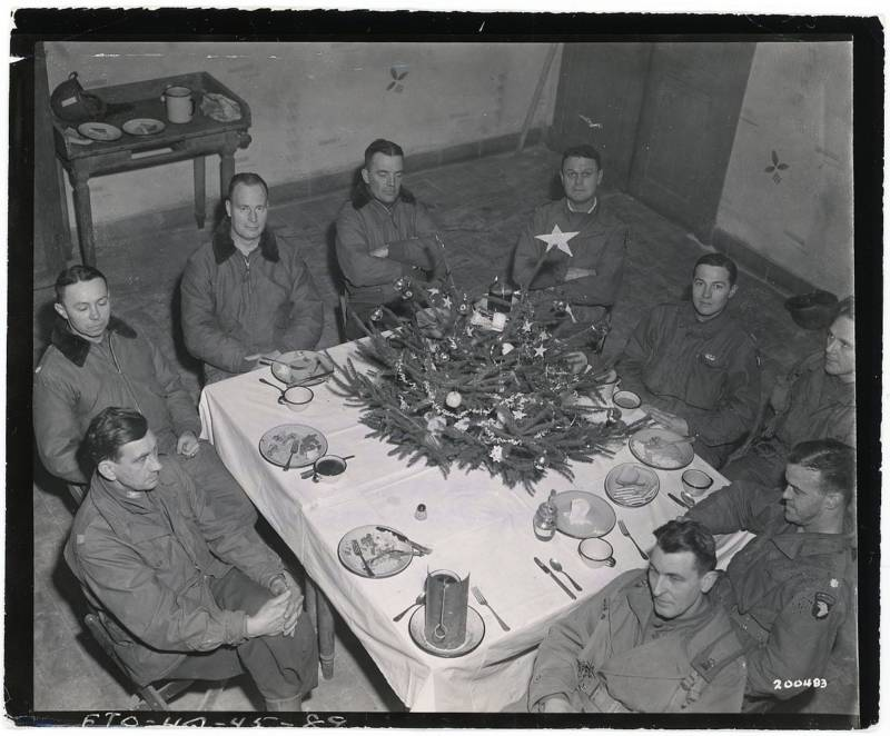 Christmas during the Battle of the Bulge