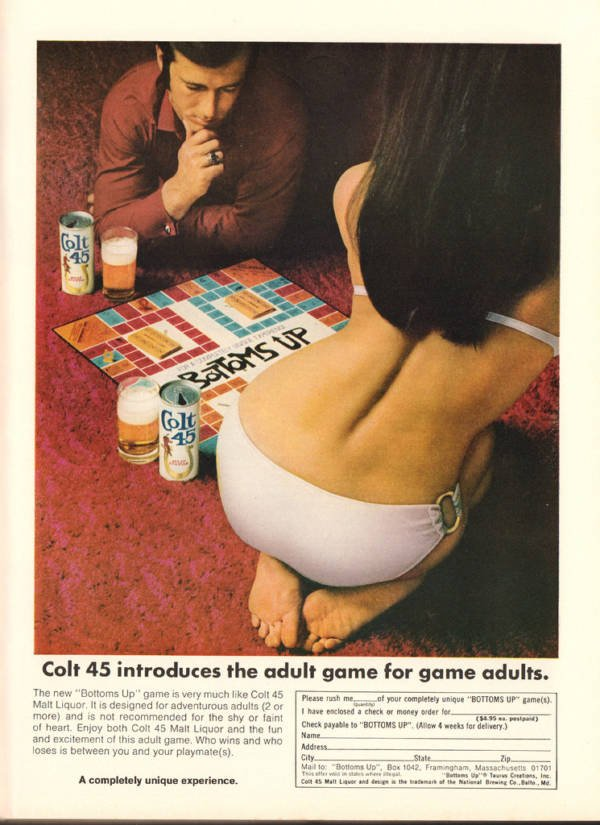 Colt 45 Beer Advert