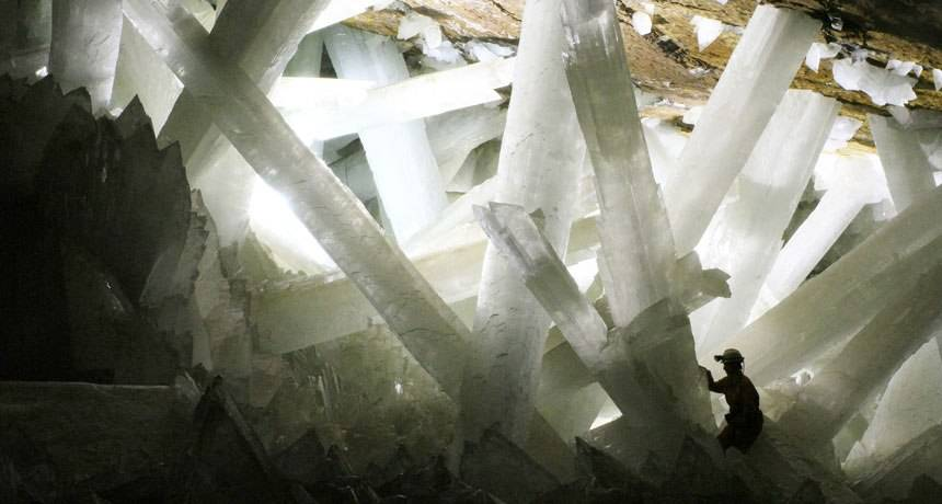Interesting news Mexico's Naica crystal mine