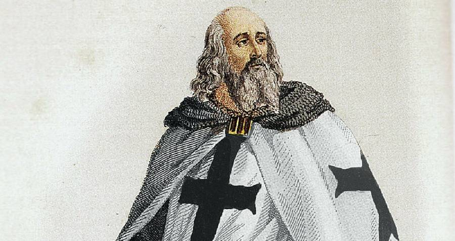 The Knights Templar grand master