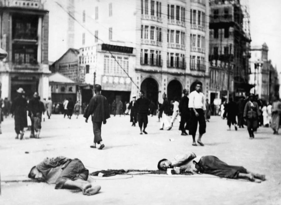 Dead Bodies Lying In The Street