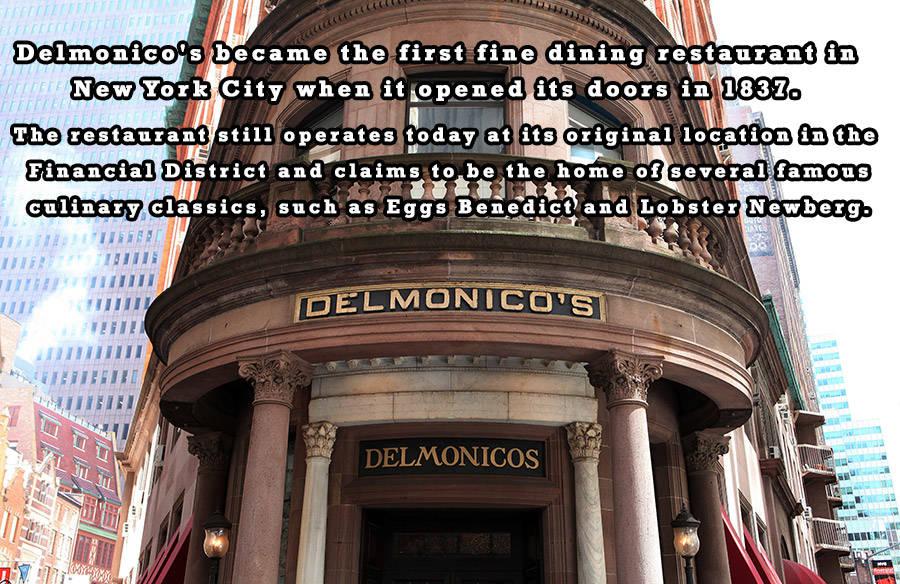 Delmonicos Restaurant Nyc