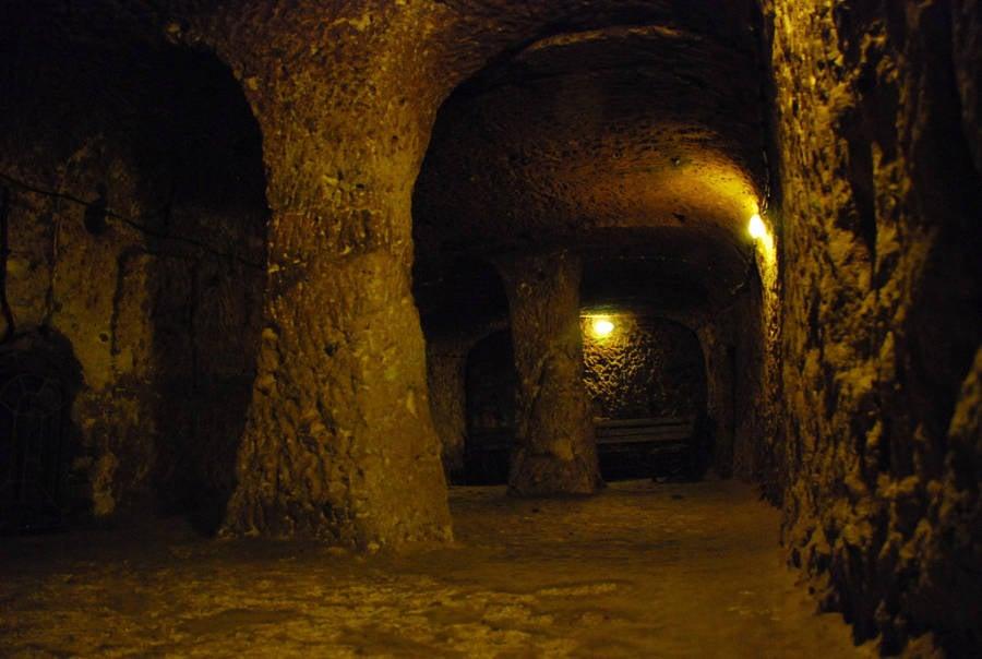 Derinkuyu tunnels