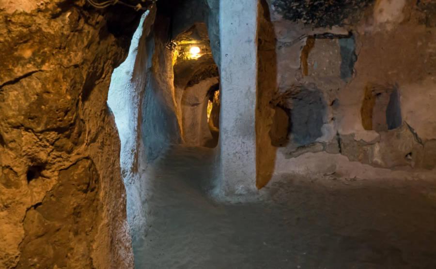 Inside Derinkuyu