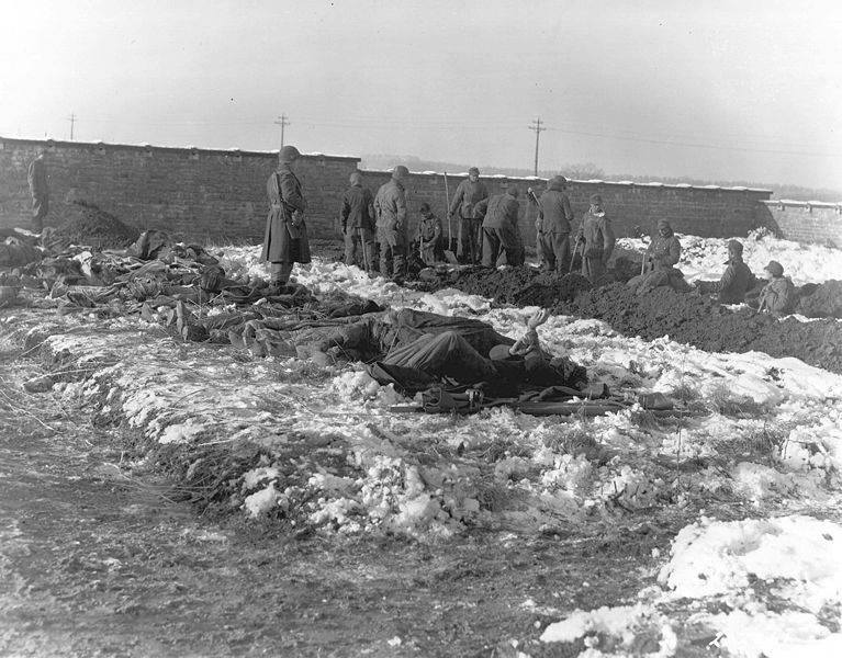 Digging Graves In Bastogne