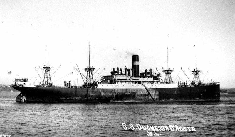 Duchessa D'Aosta ship