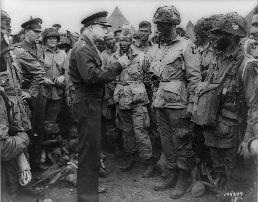 Eisenhower On D Day