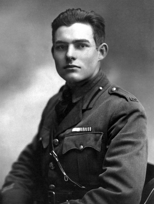 Ernest Hemingway Young