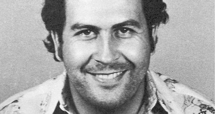 Mugshot Of Pablo Escobar