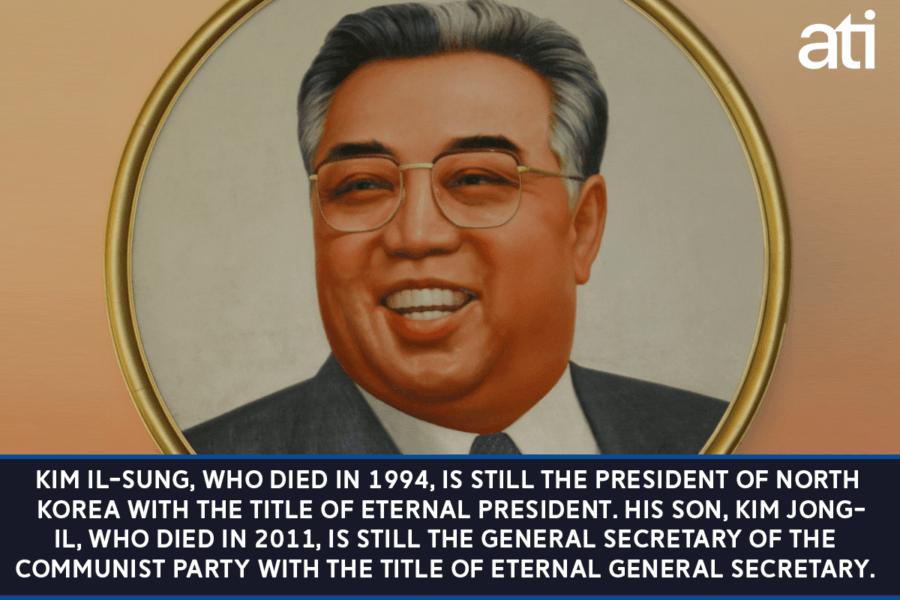 Eternal President Of North Korea