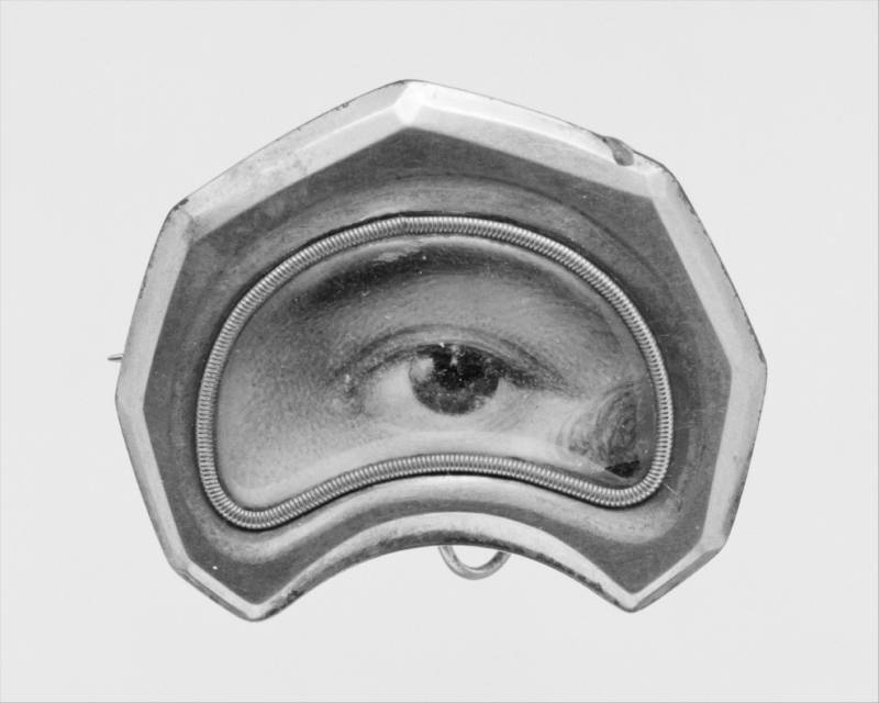 Eye Miniature 1600s Rendering