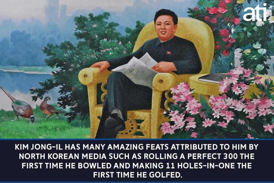 Feats Of Kim Jong Il