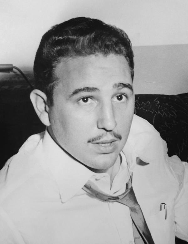 Fidel Castro Young