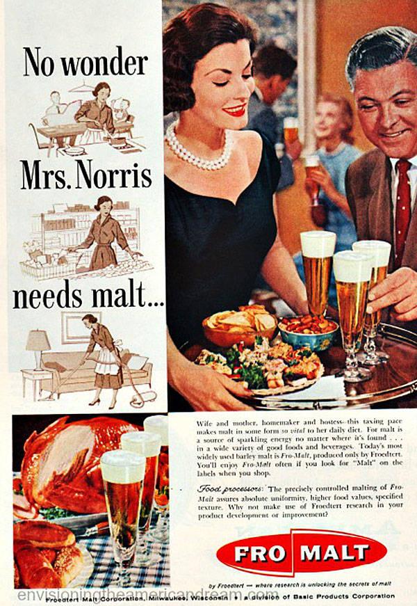 Fromalt Beer Advert