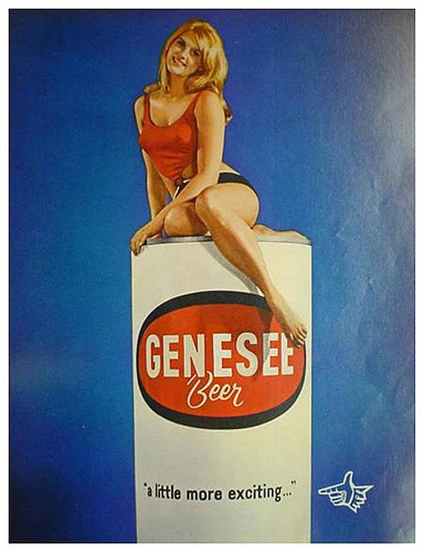 Genesee Beer Advert