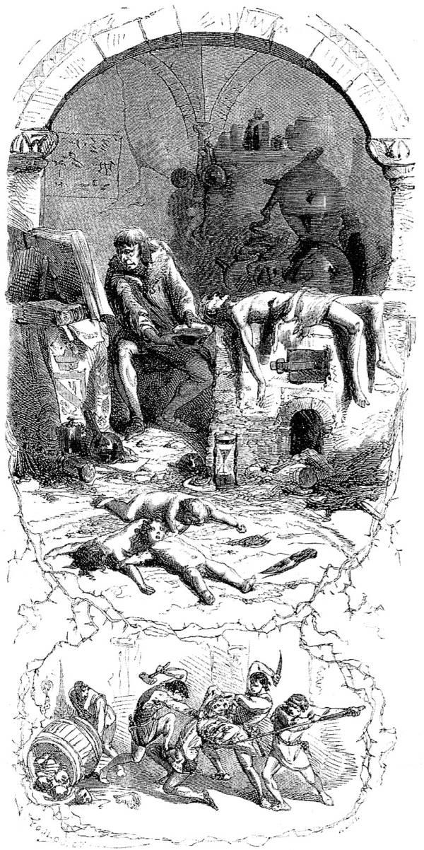 Gilles de Rais Murdering Children