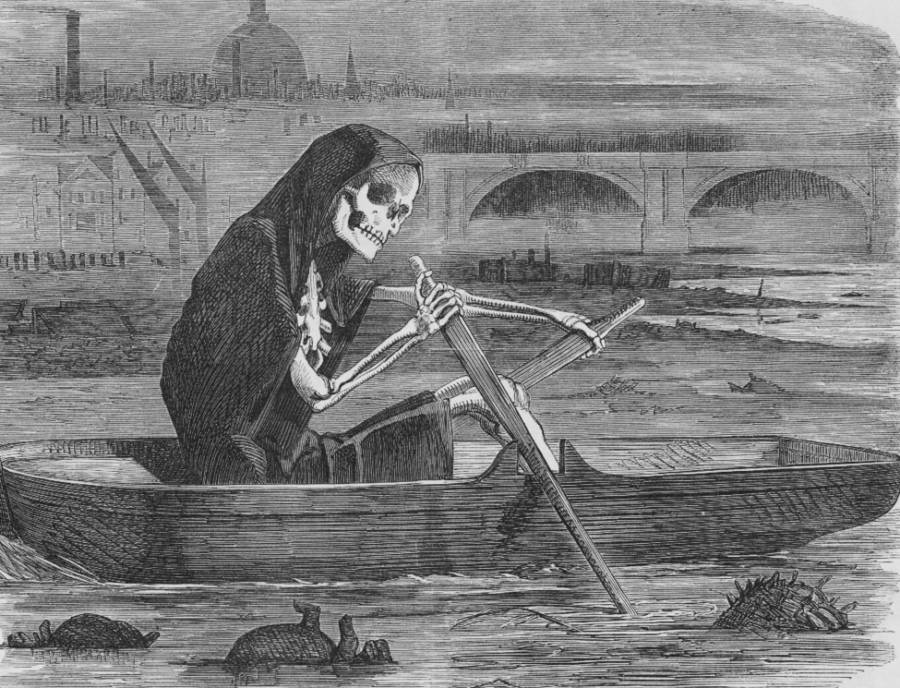 London's Great Stink Of 1858