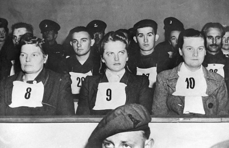 Irma Grese At Belsen Trial