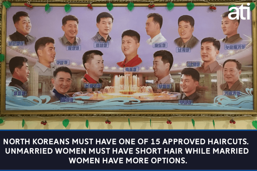 Haircuts Allowed In North Korea