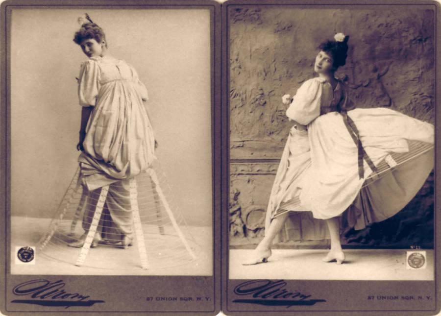 Hoop Skirt 1800s Photo