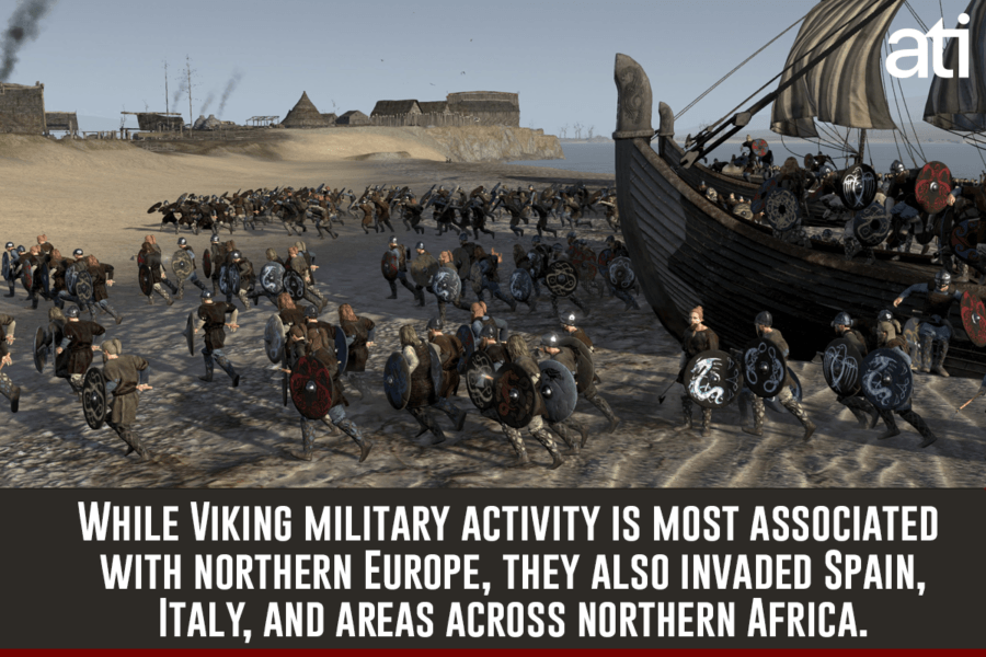 Interesting Viking Facts Range Of Military Activity