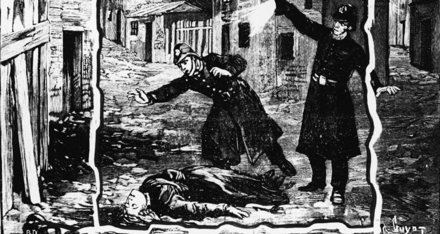 Jack The Ripper Woodcut
