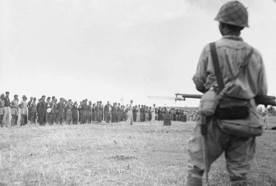 Bataan Death March Guard