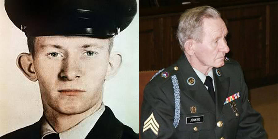 Charles Jenkins as a young soldier and then at court martial