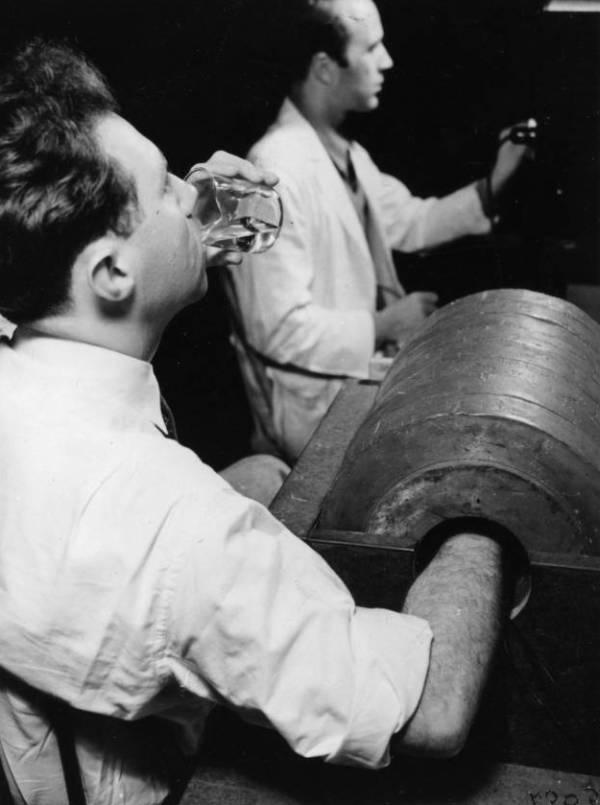 Joseph Hamilton Drinking Radiosodium
