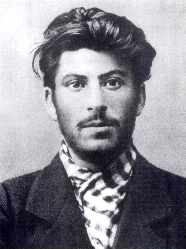Joseph Stalin Young