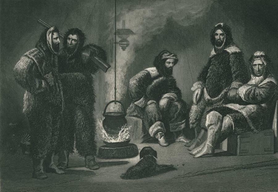 Elisha Kane and his expedition team