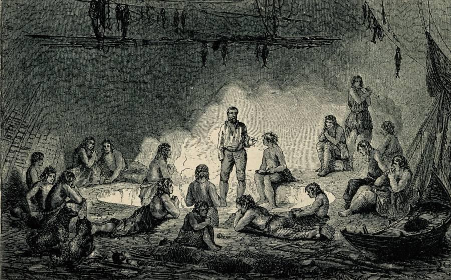 Kane Meeting Inuit