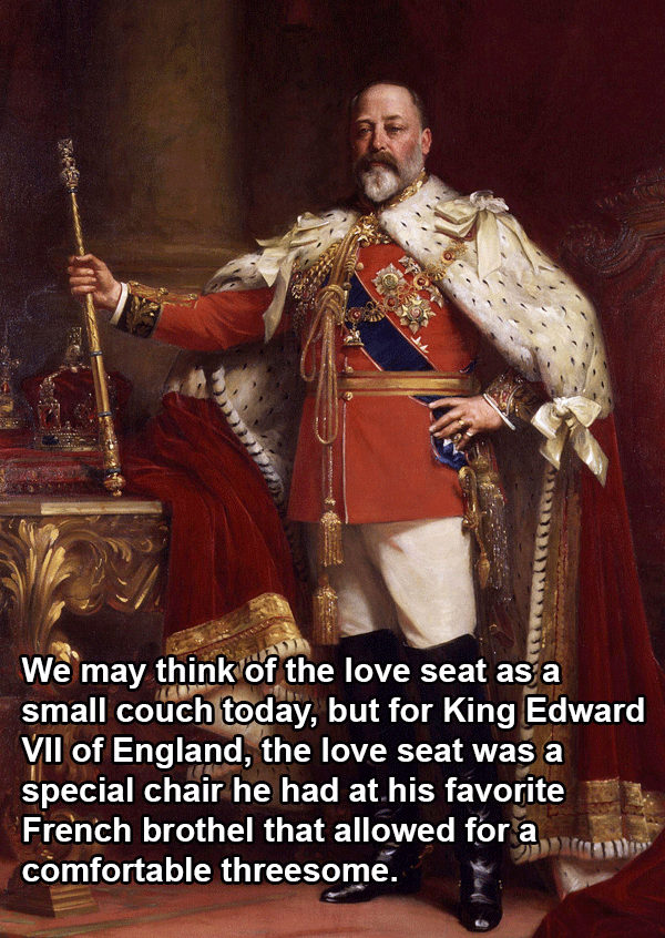 King Edward VII Love Seat