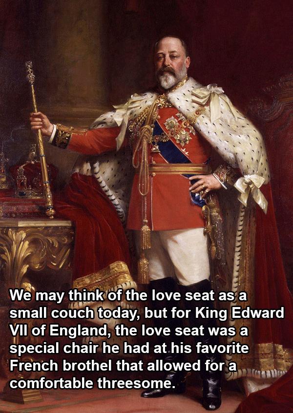 King Edward VII Love Seat