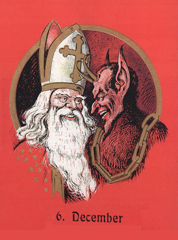 Krampus And Saint Nick