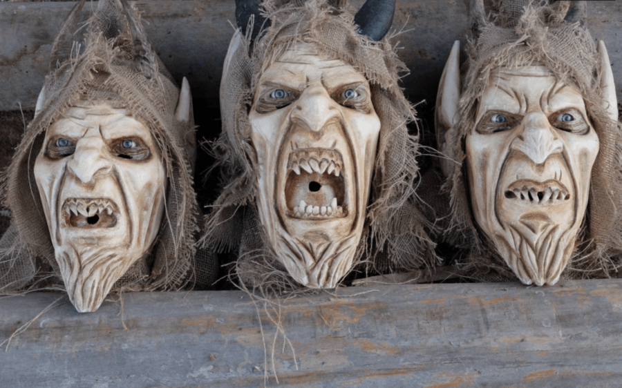 Krampus Masks