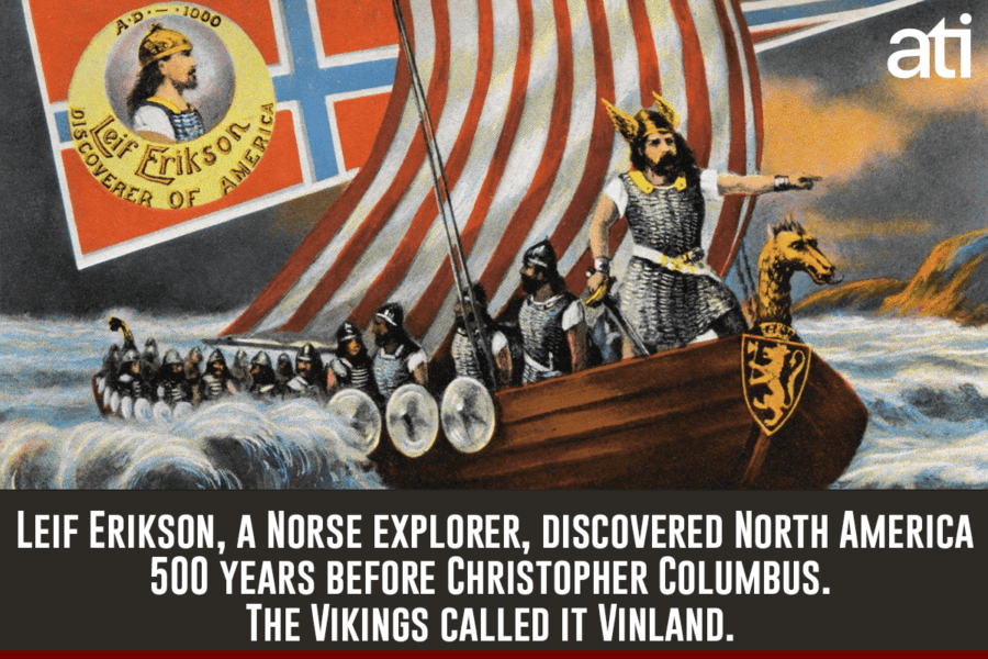 the history and influence of the vikings in north america It is relatively well known that the vikings were some of history's greatest travelers, traders, and mercenaries their reach extended far, as they are credited with finding north america.