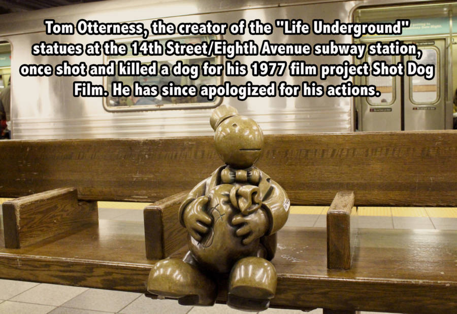 Tom Otterness's Life Underground in NYC subway