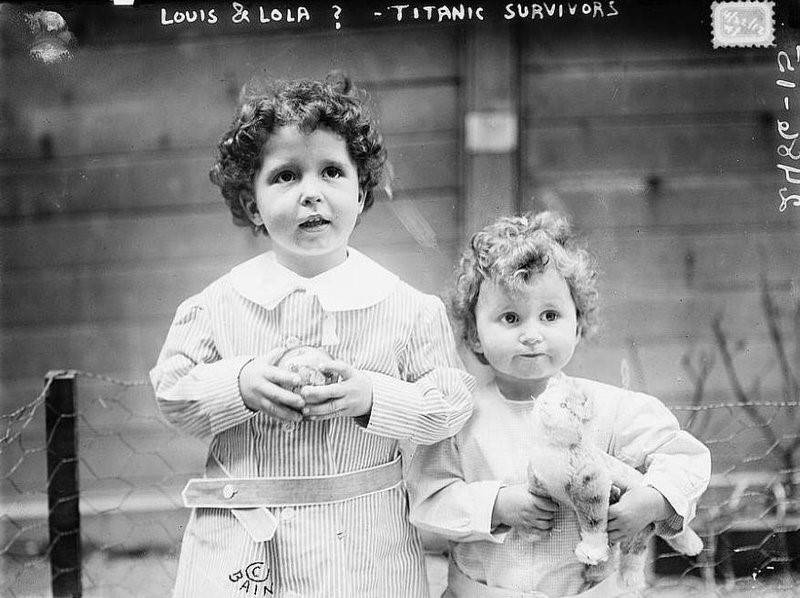 Louis And Lola Titanic