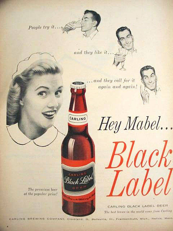 Mabel Beer Advert