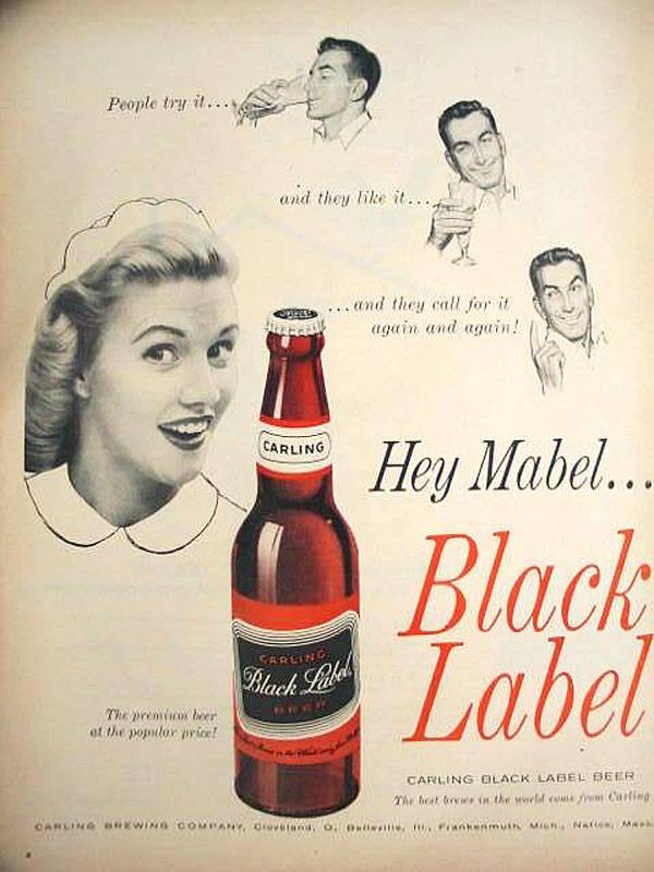 Mabel Beer Advert