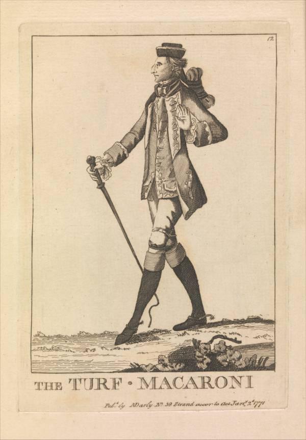 Macraoni 1700s Illustration