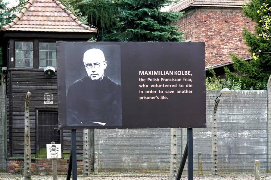 Maximilian Kolbe Memorial At Auschwitz