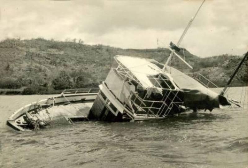 MV Joyita capsized