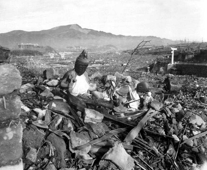 Nagasaki After Nuclear Bombing