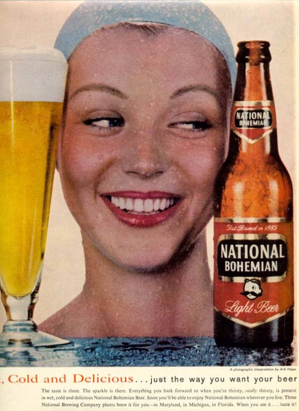 National Bohemian Beer Advert