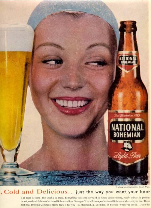 National Bohemian Beer Advert