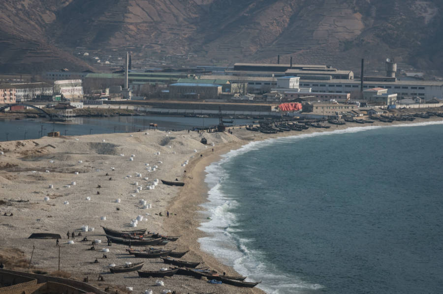North Korea Coastline