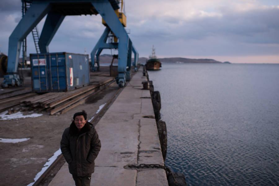 North Korea Docks